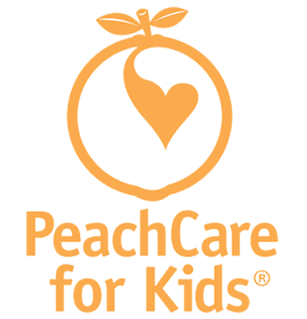 peach care for kids logo
